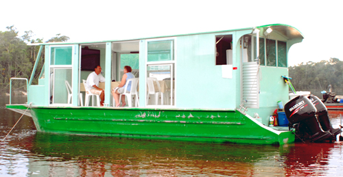Floating Bungalow Operation Dining Room