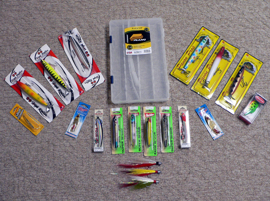 Complete Rio Tucano Lure Package