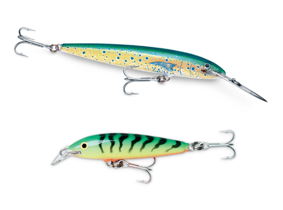 rapala magnum cd 11- 22 lures - acute angling, Reel Combo