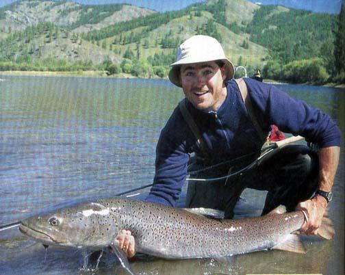 Taimen home page for Taimen fishing mongolia