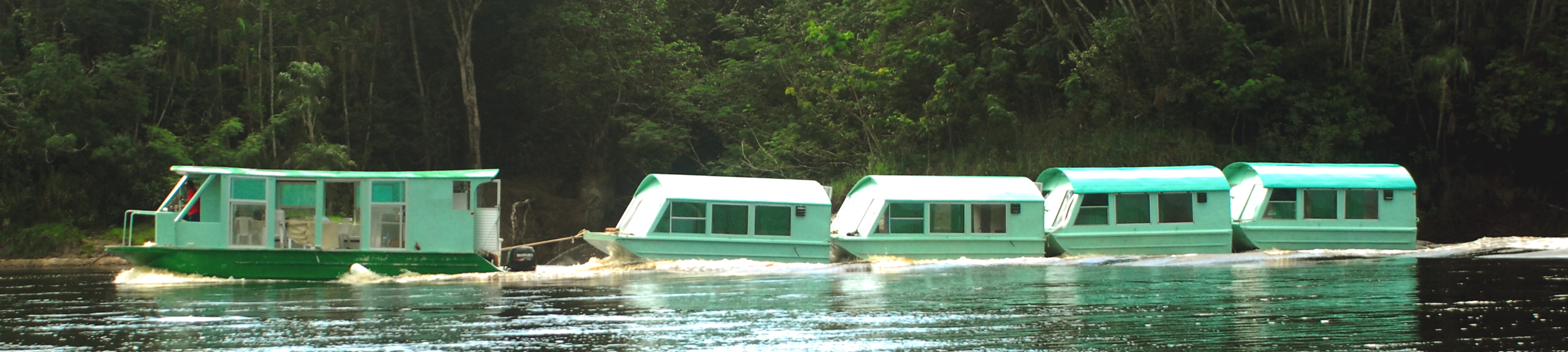 Floating Bungalows on the Move