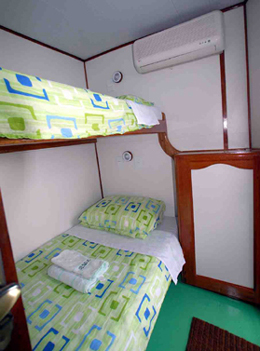 fishing boat bunks