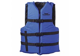 Life jackets for use on our peacock bass fishing trips
