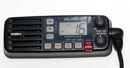 Our shortwave radio available for use on your fishing trip