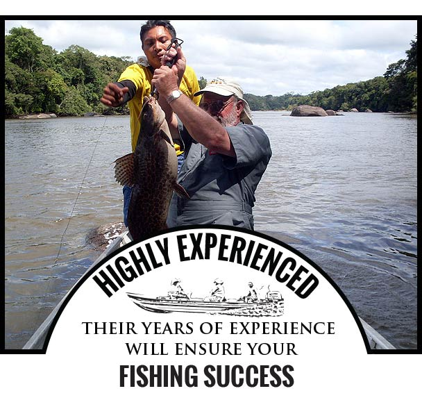 Highly Experienced, They may be getting long in the tooth, but their years of experience will ensure your FISHING SUCCESS