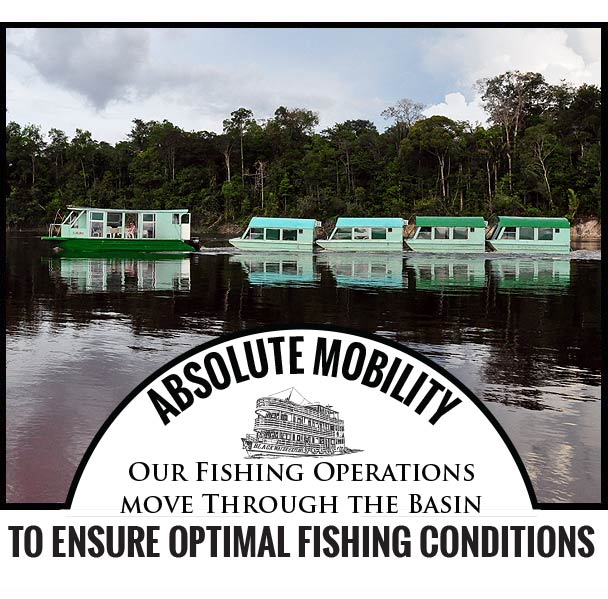 ABSOLUTE MOBILITY Our Fishing Operations move Through the Basin to ensure optimal fishing conditions