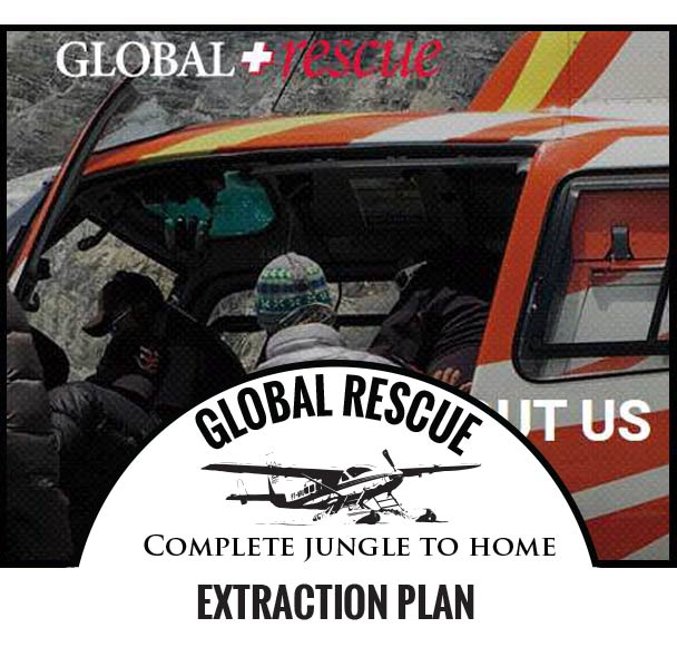 Global Rescue - Complete jungle to home extraction plan